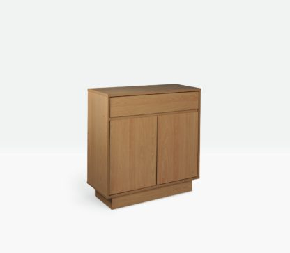 An Image of Habitat Cubes Small Sideboard - White
