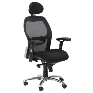 An Image of Portland Office Chair Black