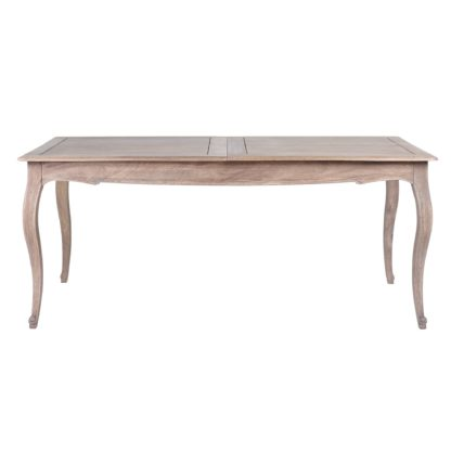 An Image of Amelie Extending Dining Table Brown