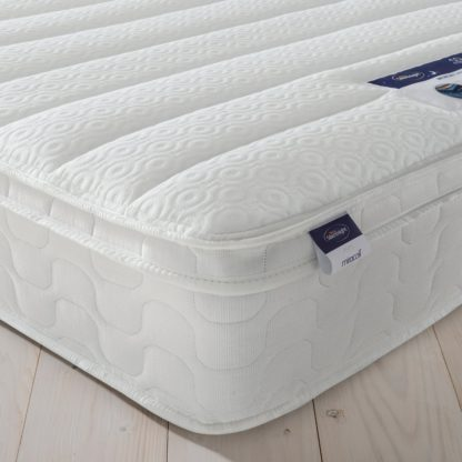 An Image of Silentnight Miracoil Travis Memory Small Double Mattress