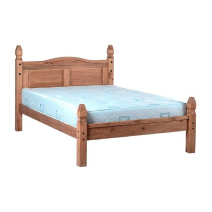 An Image of Corona Mexican Bed Frame Natural