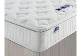 An Image of Silentnight Stanfield Sprung Pillowtop Kingsize Mattress