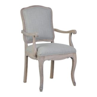 An Image of Amelie Carver Chair Brown Brown