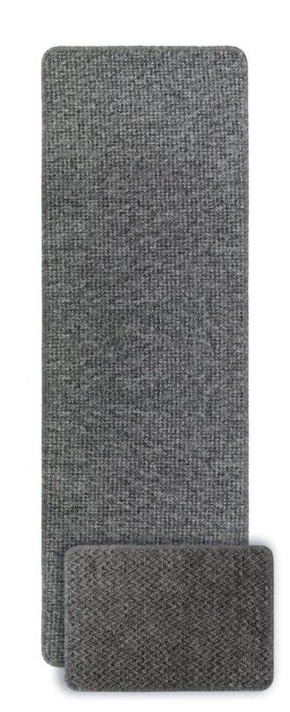 An Image of Primeur Berber Mat & Runner Set - Grey
