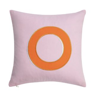 An Image of Argos Home Letter O Cushion