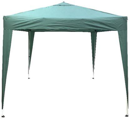 An Image of Argos Home 2.4m x 2.4m Pop Up Garden Gazebo - Green