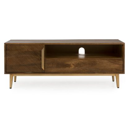 An Image of Anya Wide TV Stand Brown