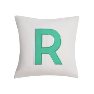 An Image of Argos Home Letter R Cushion