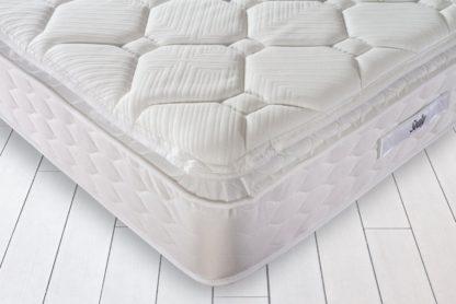 An Image of Sealy Activ Geltex Pillowtop Kingsize Mattress