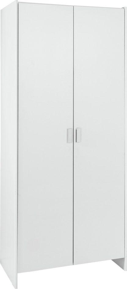 An Image of Argos Home Capella 2 Door Wardrobe - Oak
