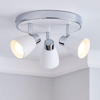 An Image of Alto 3 Light Matt White Spotlight White