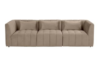 An Image of Essen Three Seat Sofa – Taupe