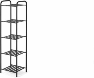 An Image of Kane 5 Tier Storage Rack, Black