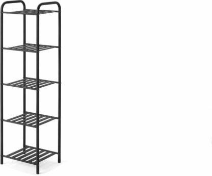 An Image of Kane 5 Tier Storage Rack, Black