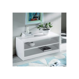 An Image of Manhattan Compact TV Unit White
