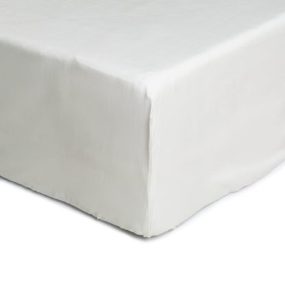 An Image of Argos Home Cotton Tencel Fitted Sheet - Double