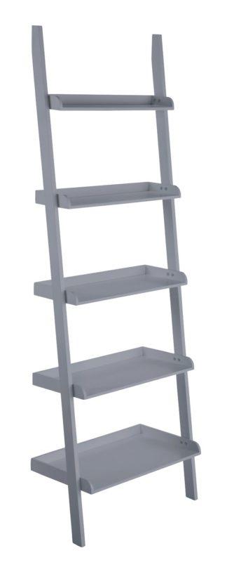 An Image of Habitat Jessie Wide Bookcase - Grey