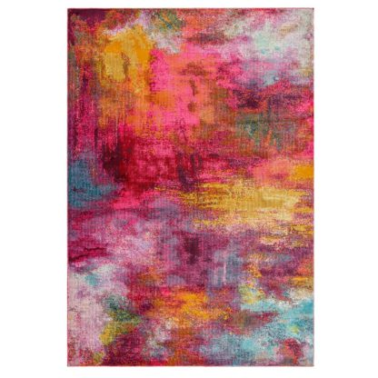 An Image of Asiatic Amelie Abstract Rectangle Woven Rug - 80x150cm