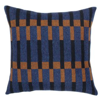 An Image of Dovetail Cushion Blue