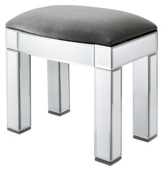 An Image of Argos Home Canzano Stool - Mirror