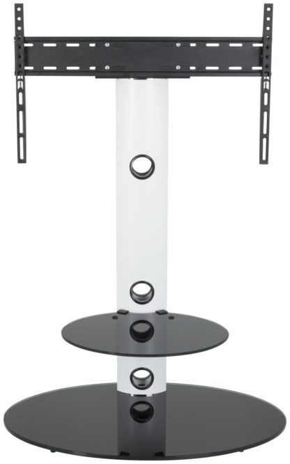 An Image of AVF Lugano Up to 65 Inch TV Stand - White