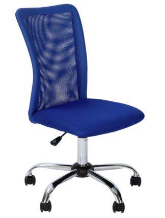 An Image of Habitat Reade Mesh Office Chair - Blue