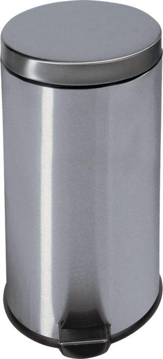An Image of Argos Home 30 Litre Kitchen Pedal Bin - Silver