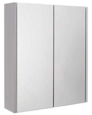 An Image of Argos Home 2 Door Mirrored Bathroom Cabinet - White