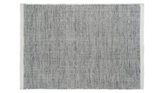 An Image of Linie Design Asko Rug Natural and Black 140 x 200cm
