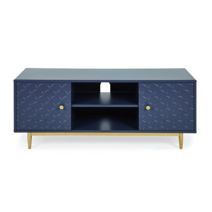 An Image of Deco Wide TV Unit Navy