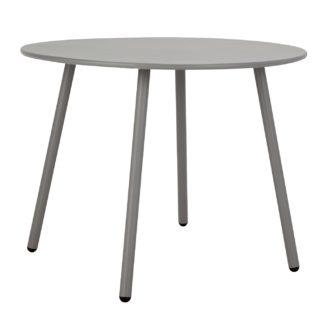 An Image of Argos Home Ipanema Round 4 Seater Garden Table - Grey