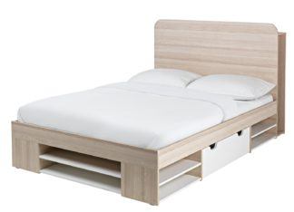 An Image of Habitat Pico Small Double Bed Frame - Two Tone