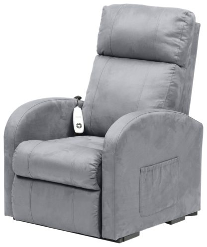 An Image of Argos Home Daresbury Rise and Recline Chair - Grey
