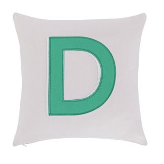 An Image of Argos Home Letter D Cushion