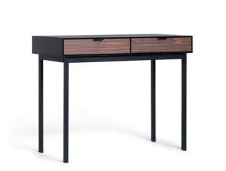 An Image of Habitat Soma 2 Drawer Office Desk - Black