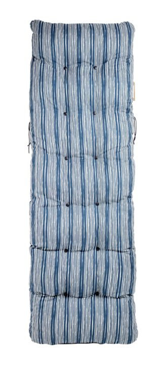 An Image of Argos Home Relaxer Cushion - Coastal Stripes