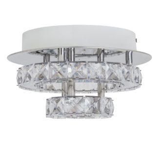 An Image of Argos Home Sophia Double Tier Flush Light