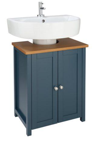 An Image of Argos Home Livingston Under Sink Unit - Blue