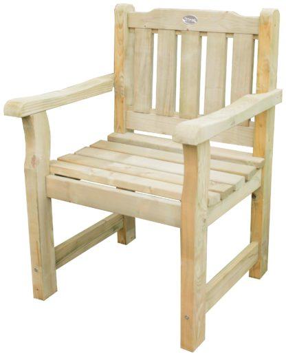 An Image of Forest Rosedene Wooden Garden Chair