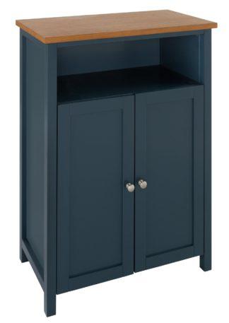 An Image of Argos Home Livingston Double Unit - Blue