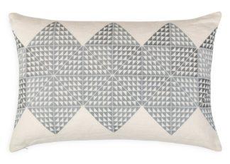 An Image of Geotile Cushion Ash Grey 40 x 60cm