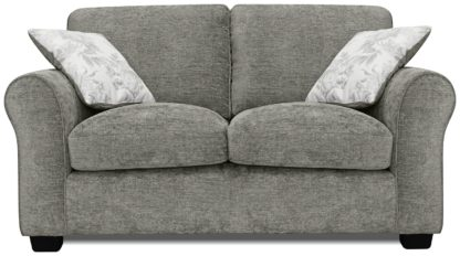An Image of Argos Home Tammy 2 Seater Fabric Sofa - Teal