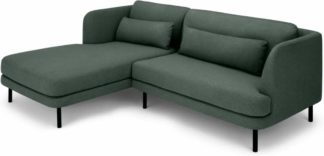 An Image of Herman Left Hand Facing Chaise End Corner Sofa, Woodland Green