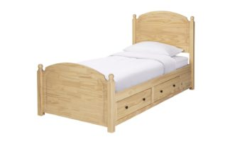 An Image of Argos Home Emberton Single Bed Frame - Pine