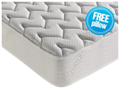 An Image of Dormeo Silver Plus Memory Foam Double Mattress