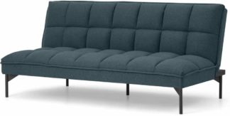 An Image of Hallie Click Clack Sofa Bed, Aegean Blue