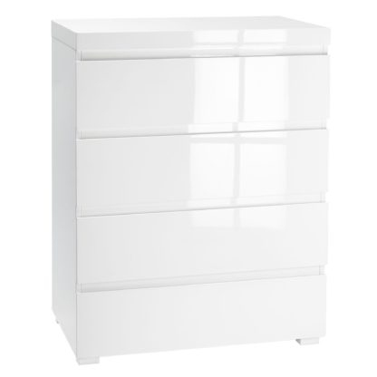 An Image of Puro White Chest of Drawers White