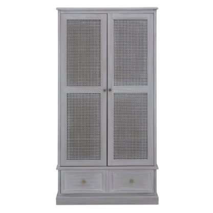 An Image of Lucy Cane Grey Gents Wardrobe Grey
