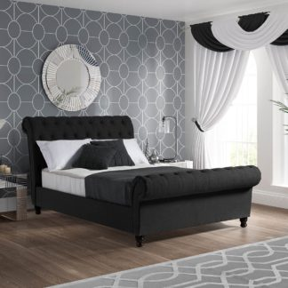 An Image of Fabio Black Bedstead Black
