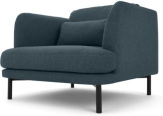 An Image of Herman Armchair, Aegean Blue